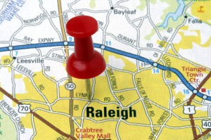 large raleigh map
