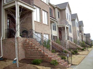 Grace Park Front Streetscape with Stairs