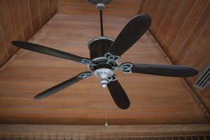 ceiling fan in a home