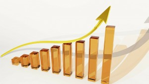 Increasing bar and line graph for increasing home buyer demand