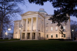 NC State Capitol building in Downtown Raleigh