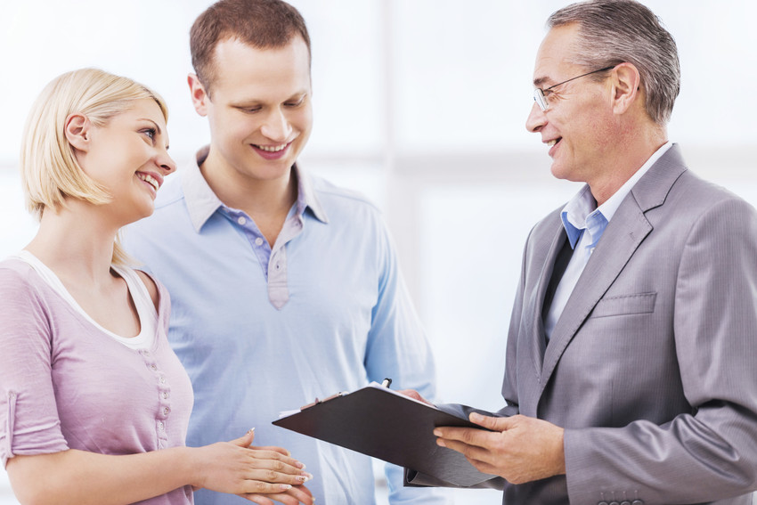 buyers with real estate agent