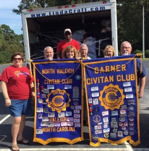 North Raleigh and Garner civitan club members