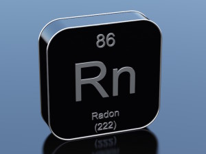 chemical sign for radon