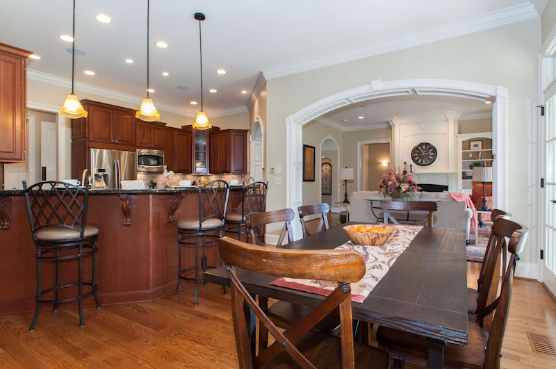 a modern nicely staged kitchen