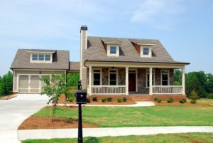 beautiful house with a front porch