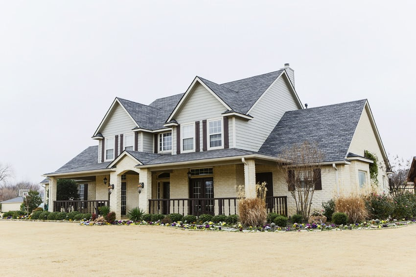A spacious, two-story single-family home.