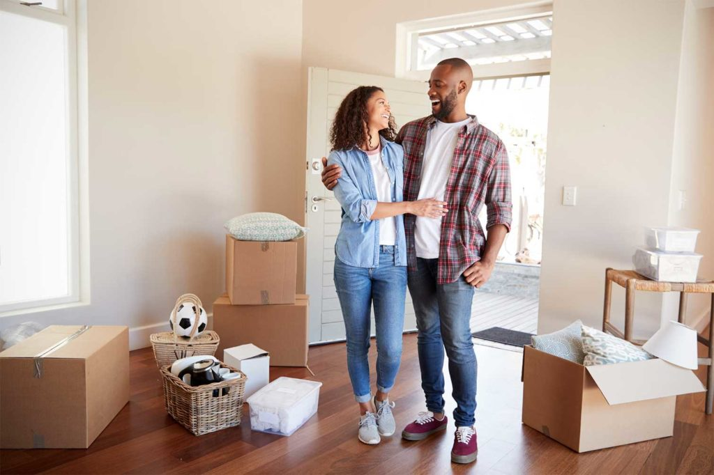 young happy homebuyers