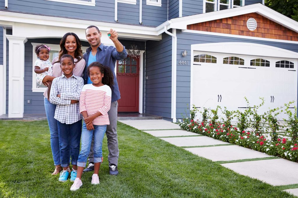 serious buyers purchasing a home