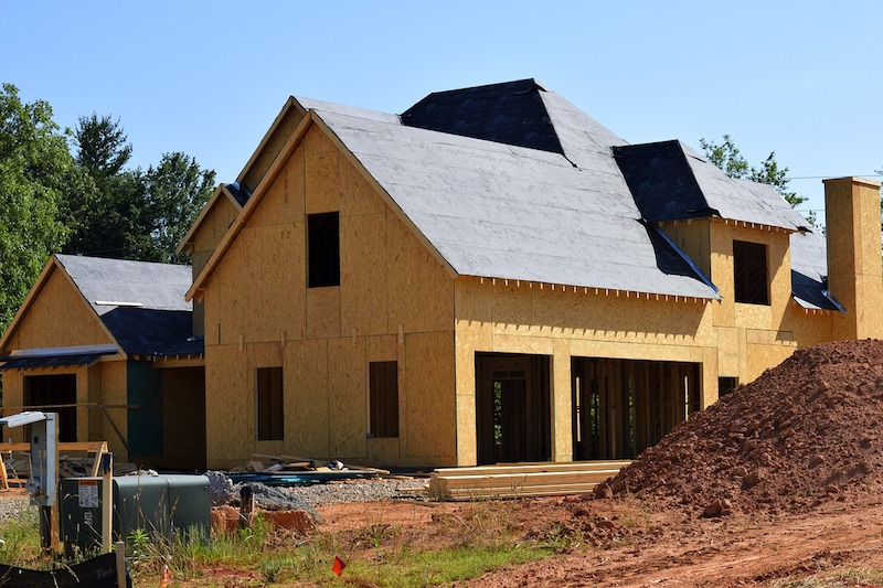 a new construction home