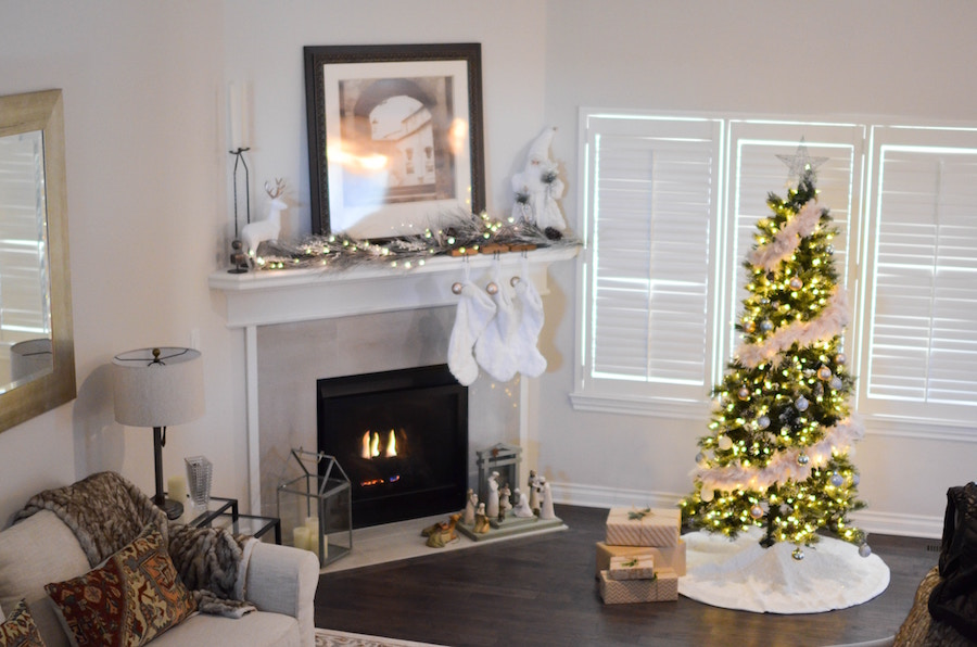 Home decor during the holiday season