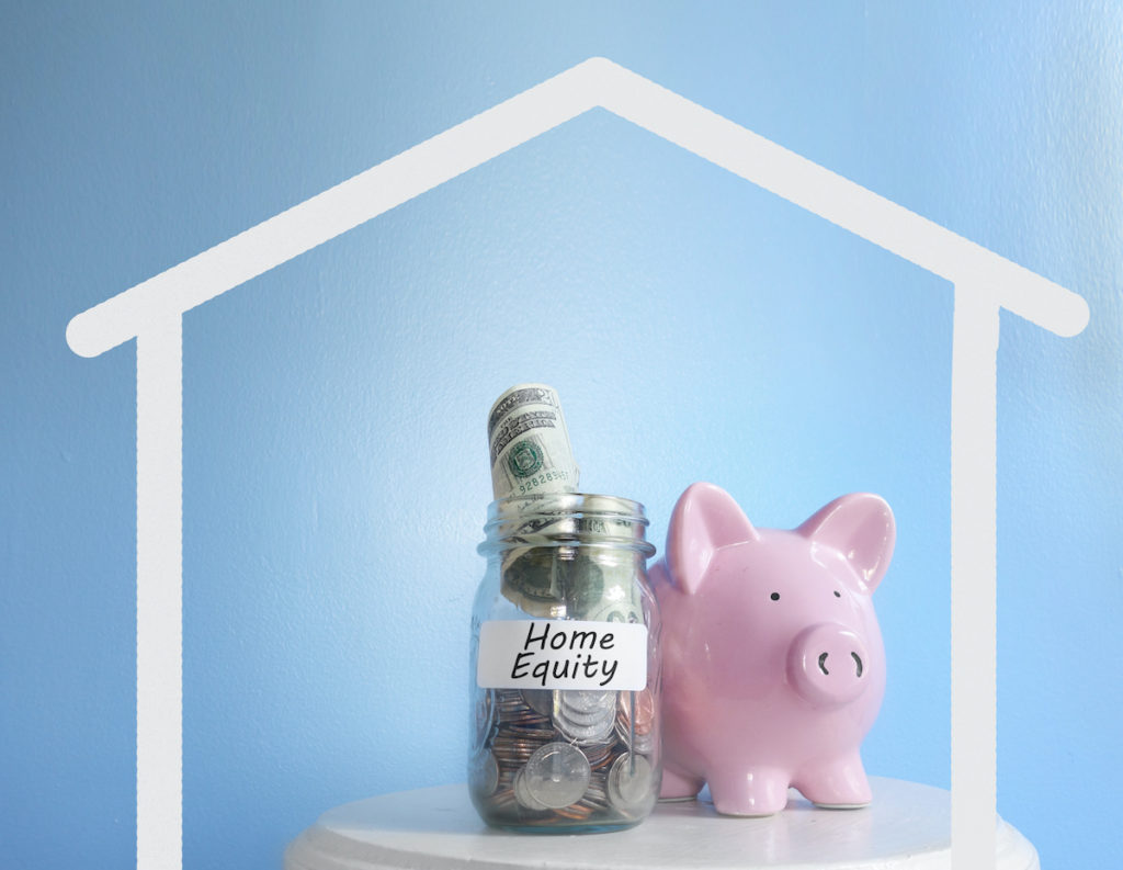 Piggy bank with equity
