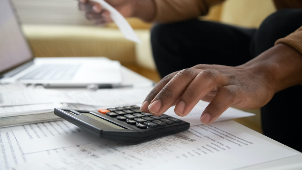 Calculating a mortgage