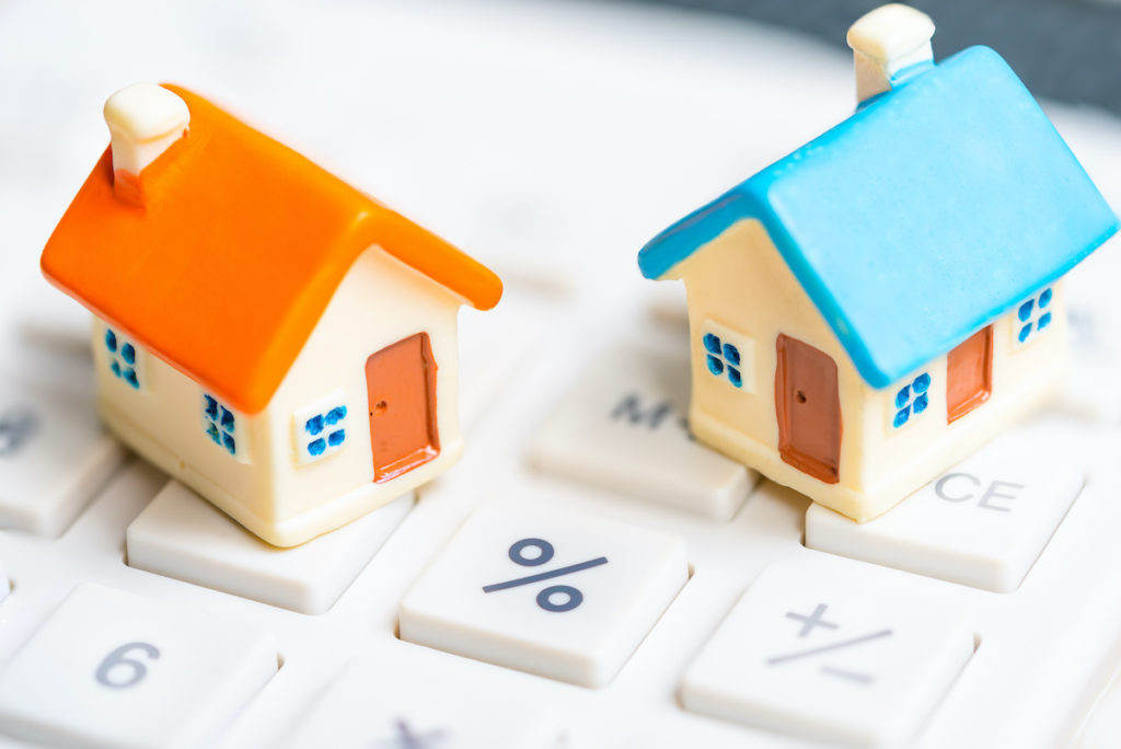 Calculating home values