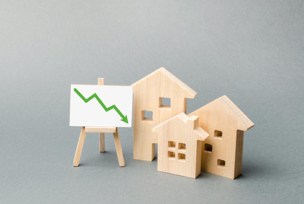 Home prices decreasing